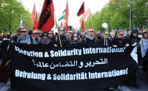 Our speech on the internationalist block of the 1. May demonstration in Berlin