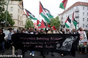 FOR-Palestine´s speech on the Nakba Day demonstration, Berlin 2016